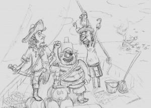Celebrating pirates